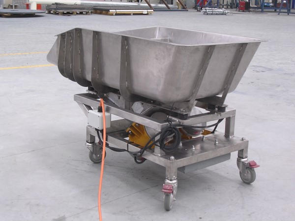 Mobile Vibratory Conveyor