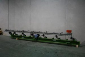 Vibrating conveyor ready for dispatch.
