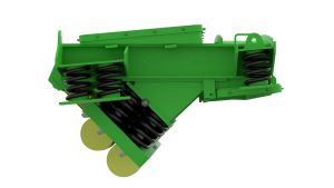 Rendering of iron ore vibrating feeder.