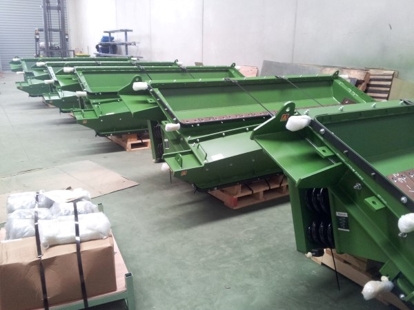 Low Profile Iron Ore Feeder