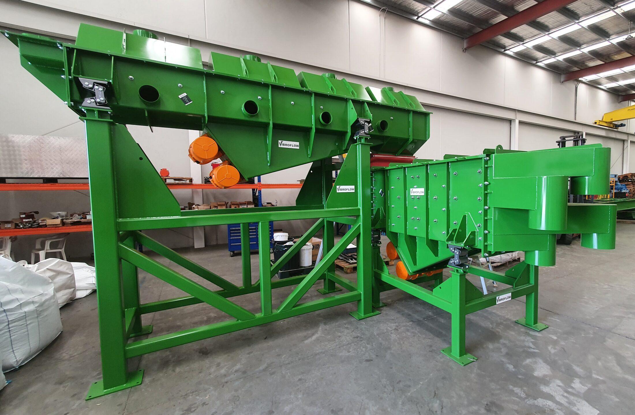 Fertiliser Cooling and Screening System